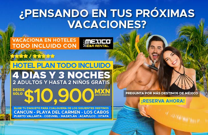 Promociones de Mexico Vacations